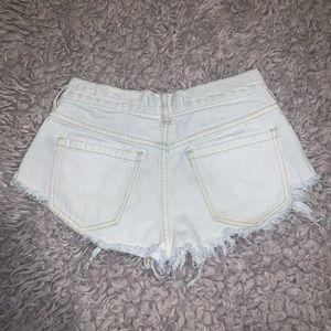 Bullhead high rise shorts Size 0